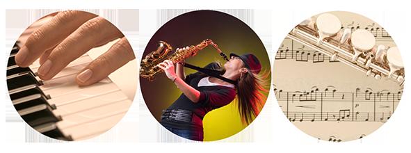 Instrumentalunterricht - Klavierunterricht, Keyboard, Saxophon. Einzelunterricht für Anfänger, Wiedereinsteiger, Späteinsteiger und Fortgeschrittene.