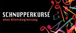 Schnupperkurse zu Schnupperpreisen Sologesang, Schauspiel, Stimmbildung, Klavier
